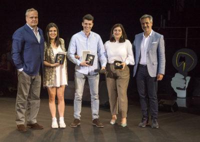 Entrega premios Jóvenes Creativos