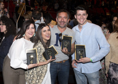 Ganadores Jóvenes Creativos